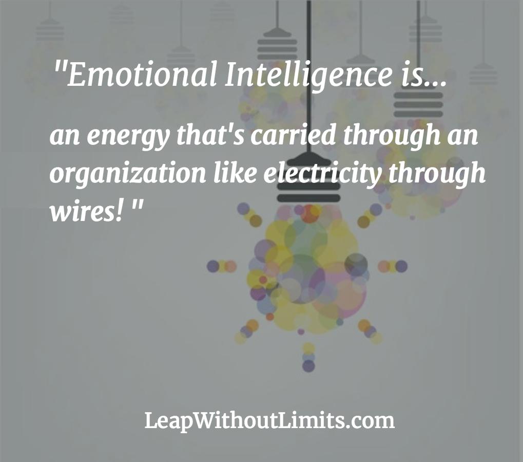 Emotional Intelligence...energy