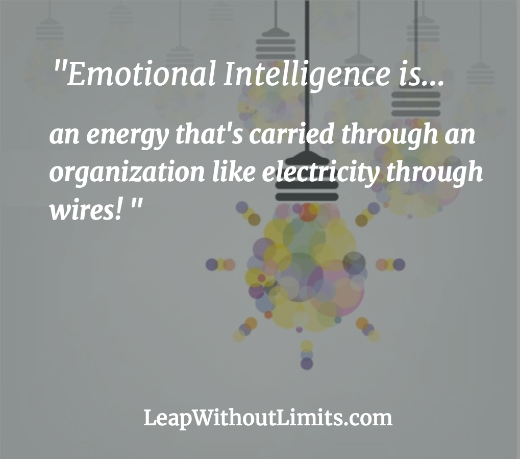 Emotional Intelligence...energy